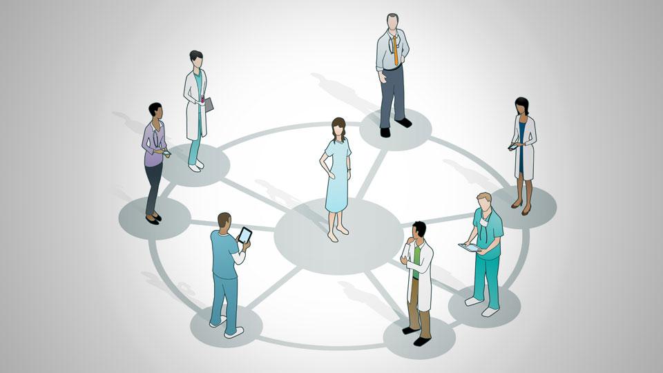 El paciente, la salud y el entorno sanatorial.