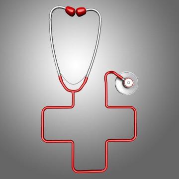 Estereotipos versus Arquetipos: la cruz médica y el estetoscopio.
