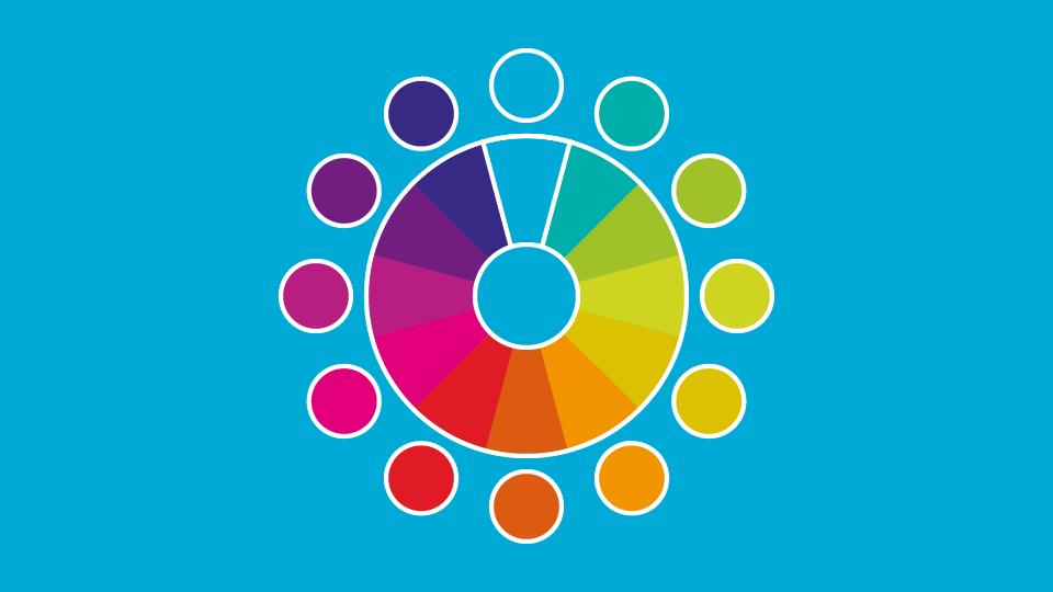 Otorrinolaringología San Gerónimo (SEO) · Esquemas de uso del color