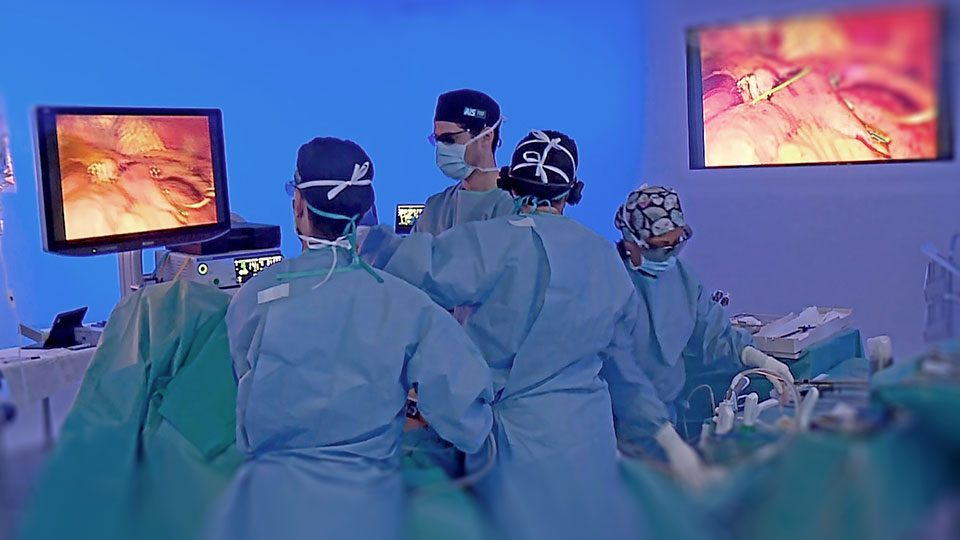 Las imágenes negativas de la práctica quirúrgica.